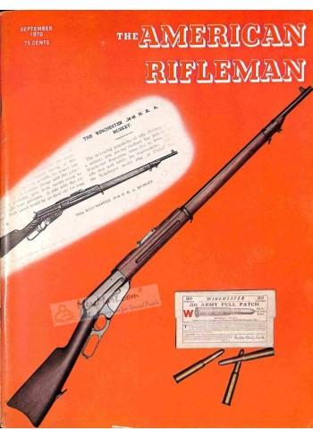Cover Print of American Rifleman, September 1970