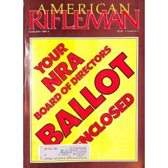 American Rifleman, February 1988
