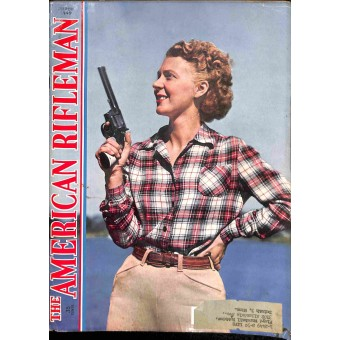Cover Print of American Rifleman, March 1949