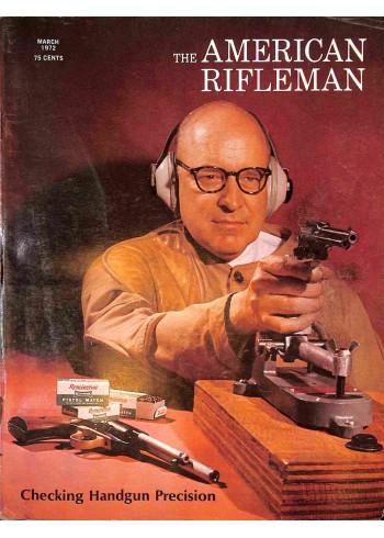 American Rifleman, March 1972
