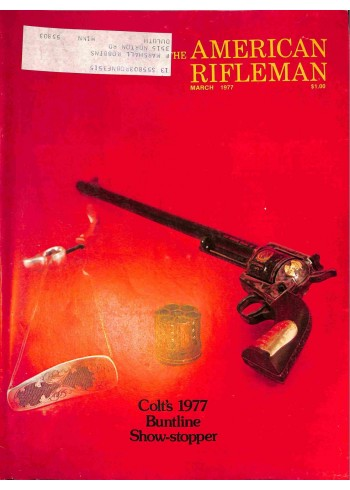 American Rifleman, March 1977