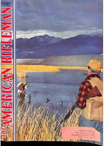 Cover Print of American Rifleman, November 1949