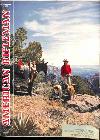 Cover Print of American Rifleman, September 1953