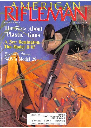 Cover Print of American Rifleman, September 1987