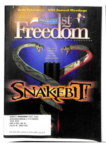 Americas 1st Freedom, August 2001