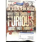 Cover Print of Americas 1st Freedom, January 2012
