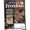 Cover Print of Americas 1st Freedom, July 2014
