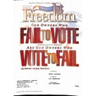 Cover Print of Americas 1st Freedom, November 2002