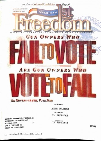 Americas 1st Freedom, November 2002