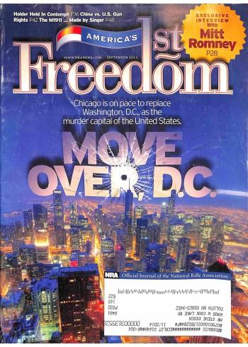 Cover Print of Americas 1st Freedom, September 2012