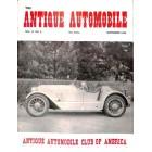 Antique Automobile, September 1953