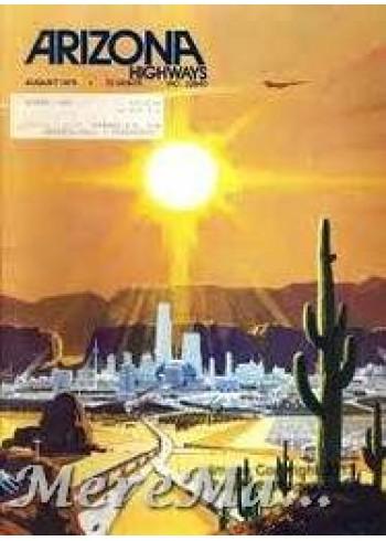 Arizona Highways, August 1975
