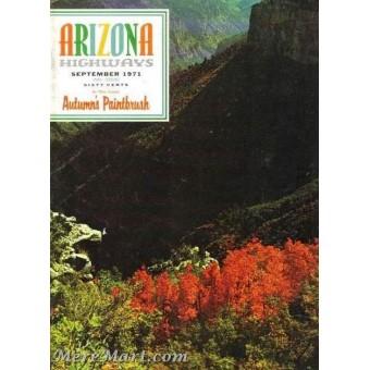 Arizona Highways, September 1971