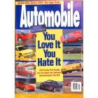 Automobile, August 1994