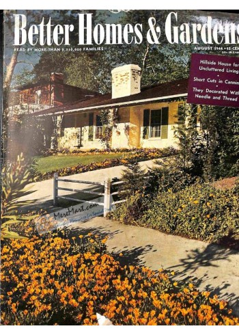 Cover Print of Better Homes and Gardens, August 1944