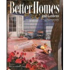Cover Print of Better Homes and Gardens, August 1952