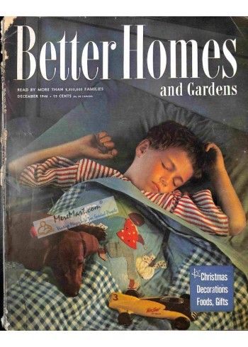 Cover Print of Better Homes and Gardens, December 1946