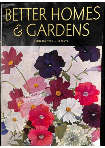 Better Homes and Gardens, February 1935