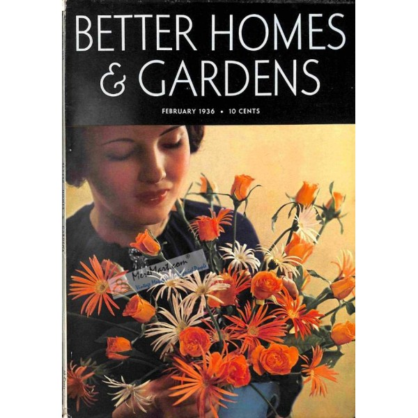 Better Homes And Gardens February 1936