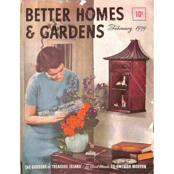 Better Homes And Gardens February 1939