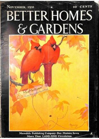 Better Homes and Gardens, November 1931