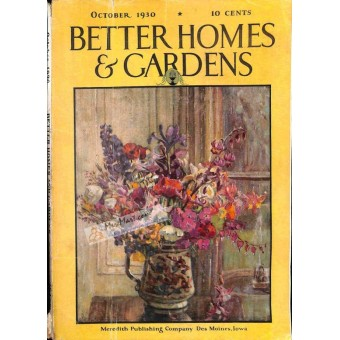 Cover Print of Better Homes and Gardens, October 1930
