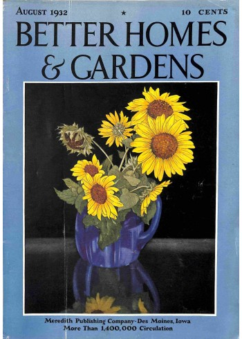 Better Homes and Gardens, August 1932