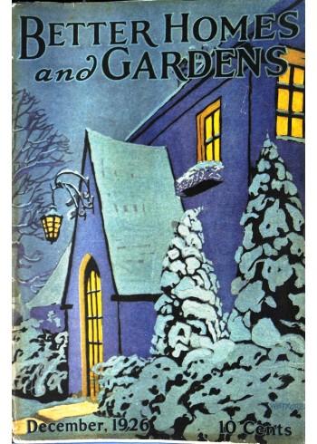 Better Homes and Gardens, December 1926