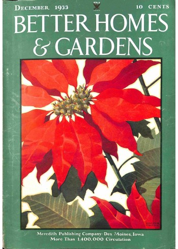 Better Homes and Gardens, December 1933