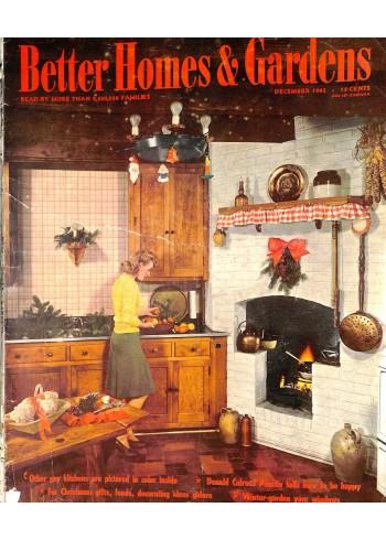 Better Homes and Gardens, December 1943
