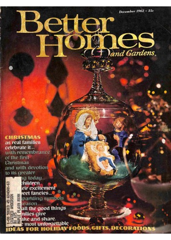 Cover Print of Better Homes and Gardens, December 1962
