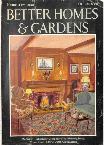 Better Homes and Gardens, February 1932