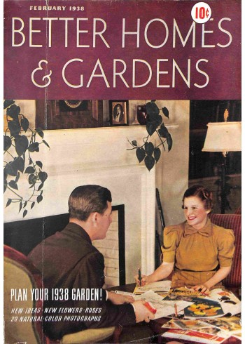 Better Homes and Gardens, February 1938