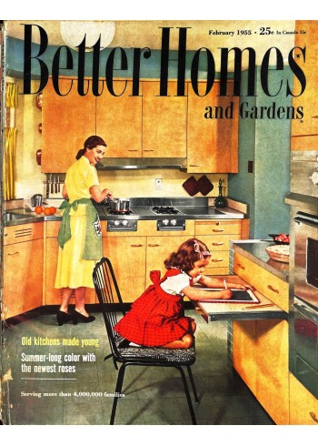 Better Homes and Gardens, February 1955
