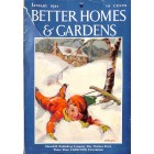 Better Homes and Gardens, January 1934