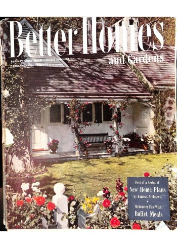 Cover Print of Better Homes and Gardens, January 1946