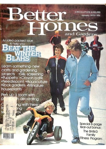 Better Homes and Gardens, January 1978