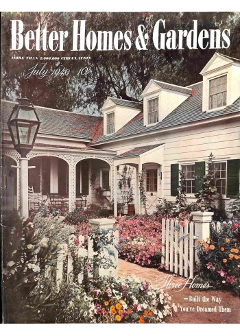 Better Homes and Gardens, July 1940