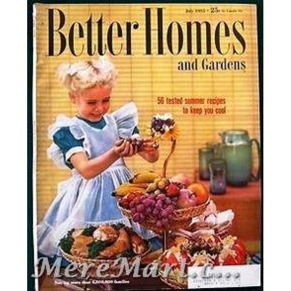 Better Homes And Gardens Magazine July 1955