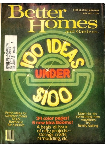 Cover Print of Better Homes and Gardens, July 1977
