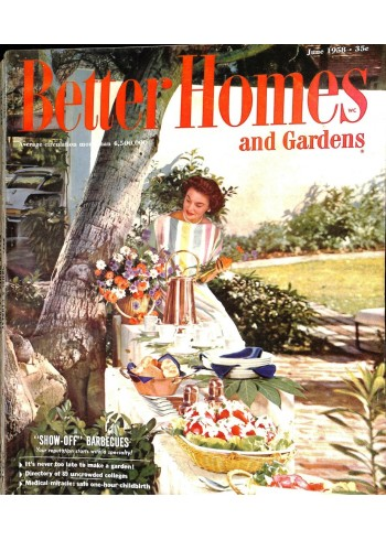 Better Homes and Gardens, June 1958