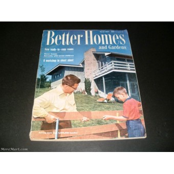 Better Homes And Gardens March 1955: better homes and gardens march