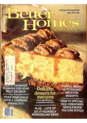 Better Homes and Gardens, May 1978