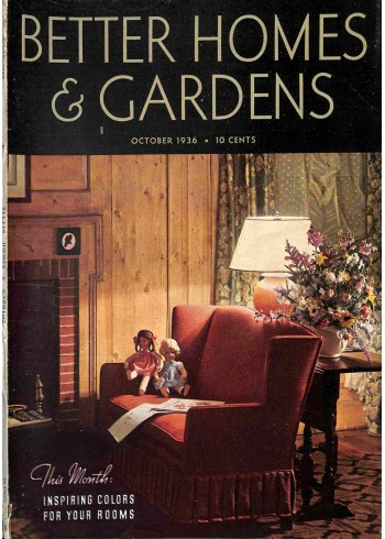 Better Homes and Gardens, October 1936