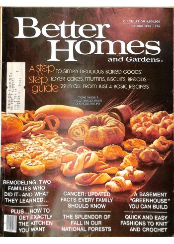Better Homes and Gardens, October 1976