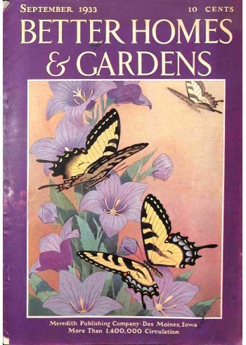 Better Homes and Gardens, September 1933