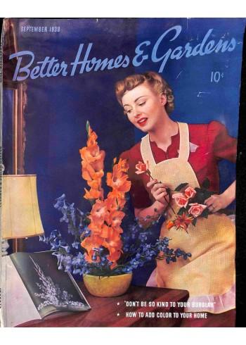 Better Homes and Gardens, September 1939