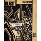 Blast, July, 1915. Poster Print. Wyndham Lewis.