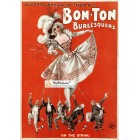 Bon-Ton Burlesquers, December, 1922. Poster Print.