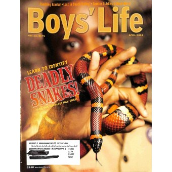 Cover Print of Boys Life, April 2004